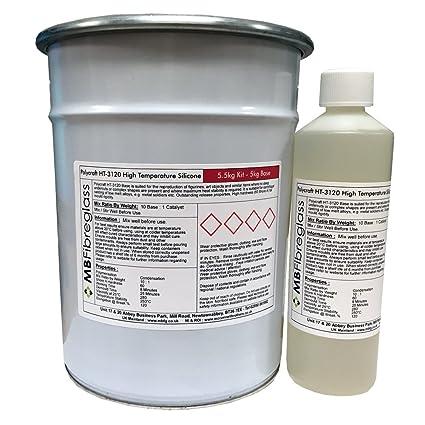 Polycraft HT-3120 – Materiales resistente al calor de alta temperatura de caucho de silicona