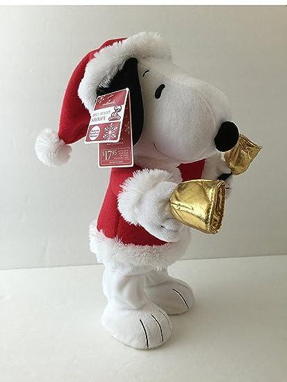 Amazon.com  LPR2335 Bell Ringer Snoopy Hallmark Animated Plush  Home ... 90e76d83a405