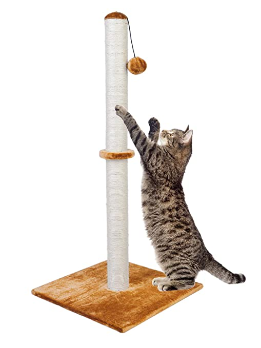 Dimaka - Poste rascador para gatos de 94 cm de alto, rascador de ...