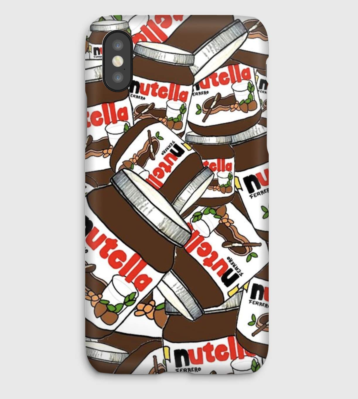 Its good NUTELLA, coque pour iPhone XS, XS Max, XR, X, 8, 8+, 7, 7+, 6S, 6, 6S+, 6+, 5C, 5, 5S, 5SE, 4S, 4,