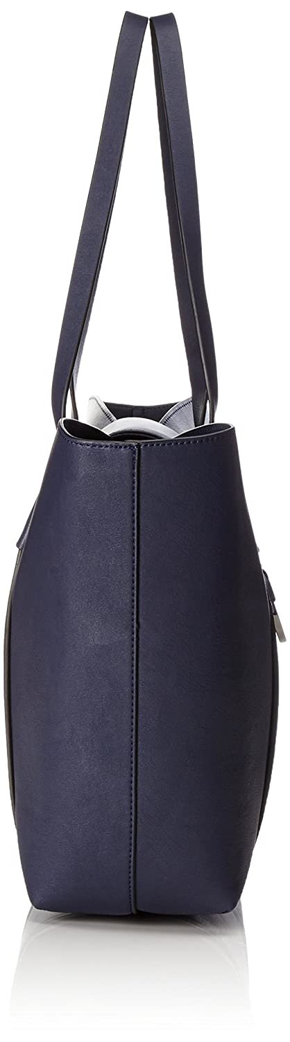 Womens 037EA1O007 Hobos and Shoulder Bag, Blue (400 Navy), 12.5x30x32.5 cm (B x H x T) Esprit