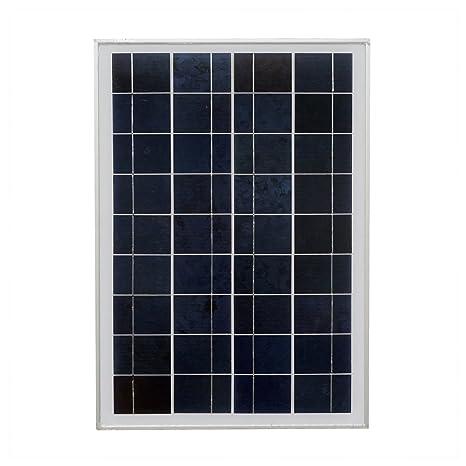 ECO WORTHY 20 Watt 12 Volt Polycrystalline Solar Panel Module Off Grid  Charging RV Boat
