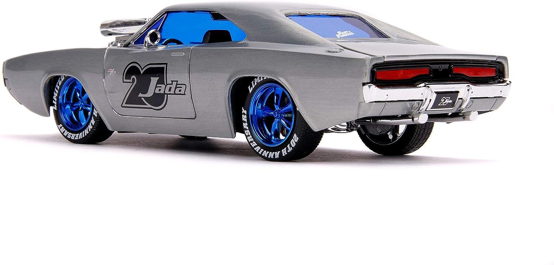 1970 Dodge Charger R//T Raw Metal Fast /& Furious Jada 20th Anniversary 1//24 Dieca
