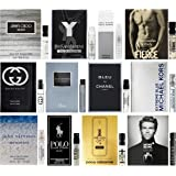High End Designer Fragrance Sampler for Men - Lot x 12 Cologne Vials