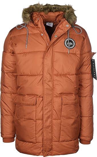 0431d80cf HYPE Puffer Jacket Orange Sml Orange  Amazon.co.uk  Clothing