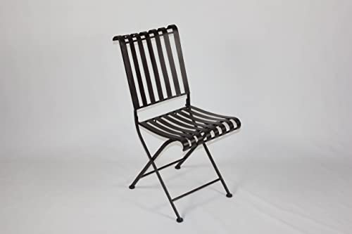 4D Concepts Rounded Metal Folding Chair