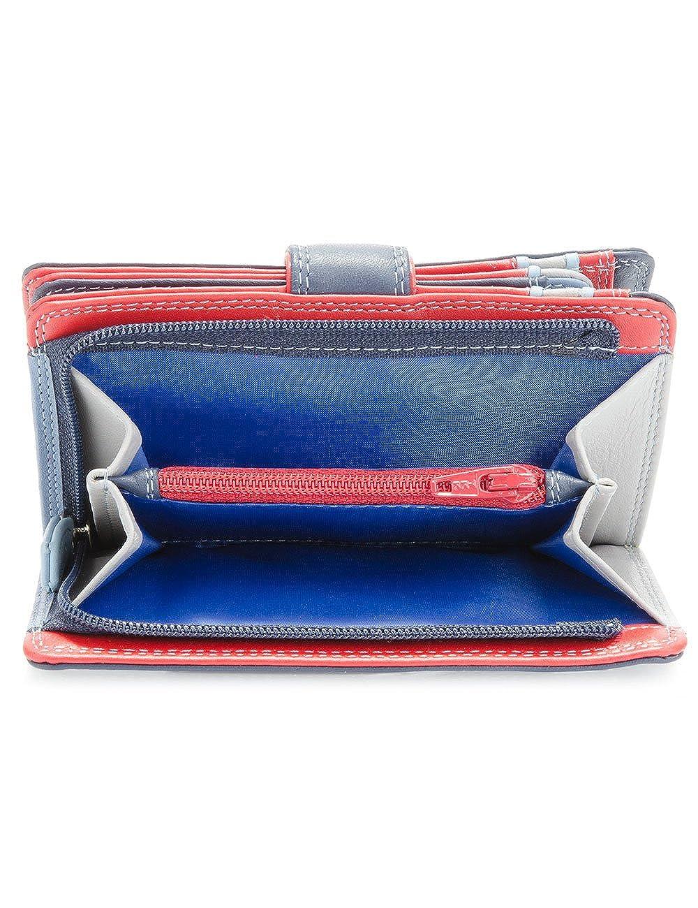 billetereo monedero de piel para mujer - mywalit - medium wallet/zip purse- 390-127- royal