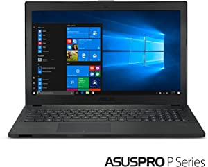 "ASUSPRO Laptop - 15.6"" FHD Matte Display, Intel Core i5-8250U CPU, 8GB RAM, 256 GB SSD , NVIDIA GeForce MX110, TPM, Fingerprint, 9 Hours, Windows 10 Professional - P2540UB-XB51 (Renewed)"