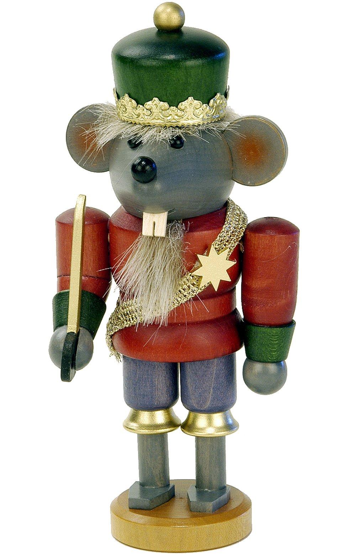 Alexander Taron Importer 32-612 - Christian Ulbricht Nutcracker - Mouse King - 6.75'''' H x 3.25'''' W x 2.75'''' D
