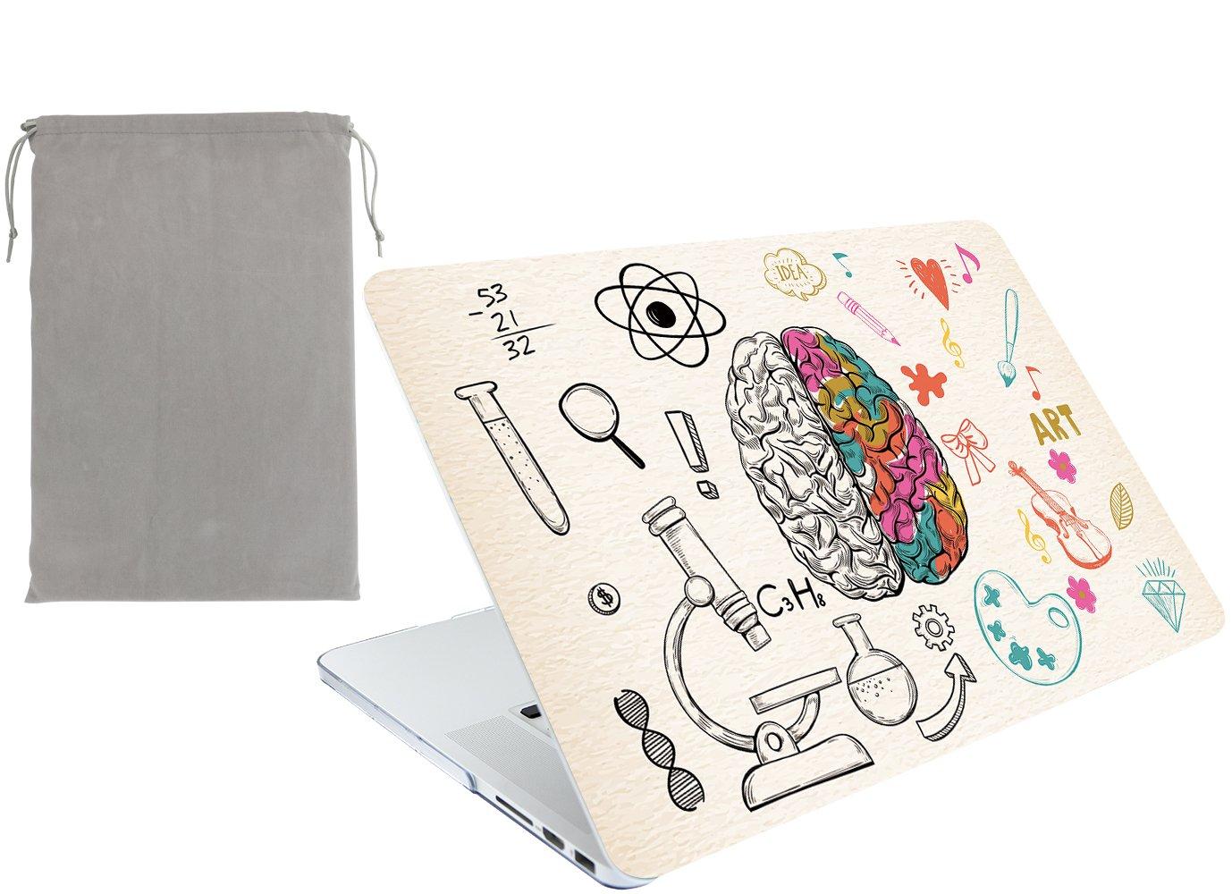 A1466 Cerebro izquierdo derecho B A1369 October Elf Funda r/ígida para MacBook Air de 13 pulgadas 2 en 1 con funda para MacBook Air de 13 pulgadas Modelo