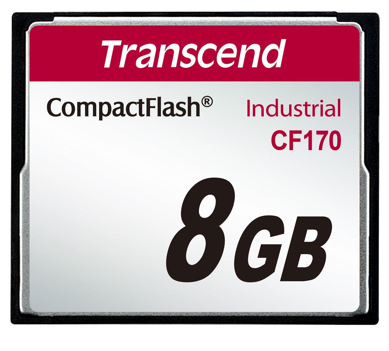 mlc Transcend Industrial Memoria Compact Flash de 8 GB
