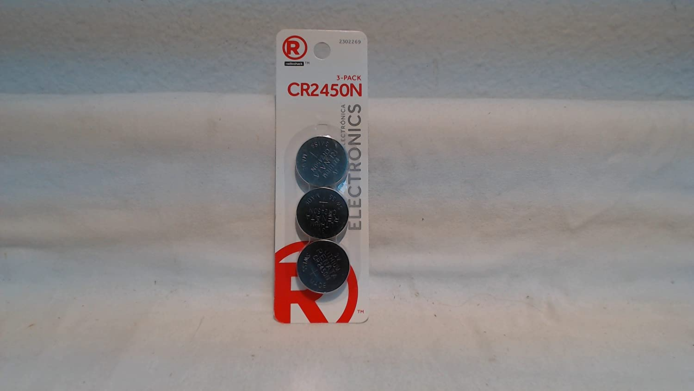 3V Batteries CR2450N 3 Pack