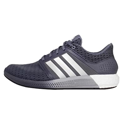 Adidas Men's Solar Boost M, GREY/SILVER/WHITE, 10 M US