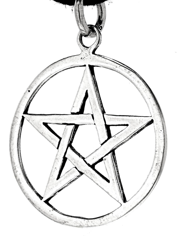 Pentagramm Anhänger aus 925 Sterling Silber Nr. 49 Eastern Gems ABC-202