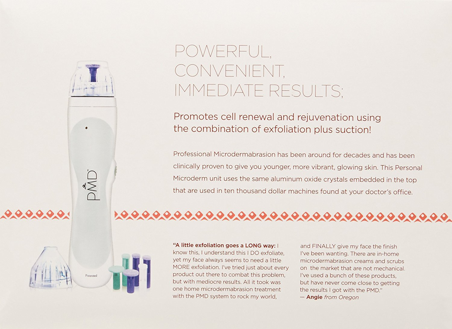 Buy Pmd Personal Microderm Microdermabrasion Online At Low Prices In