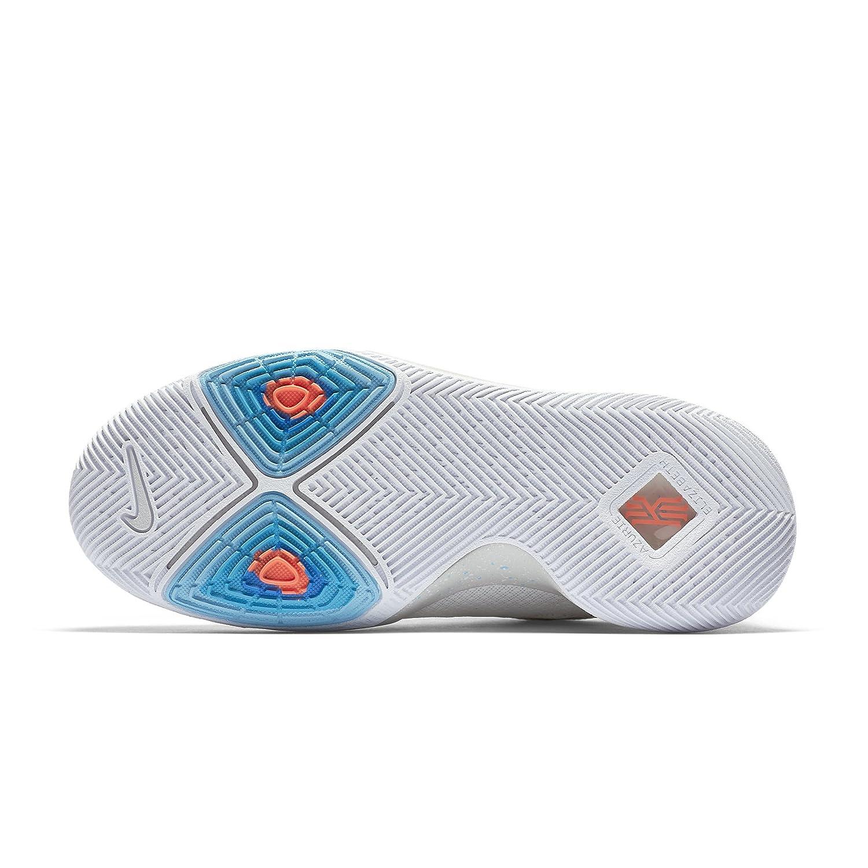 NIKE Boys Kyrie 3 Colorblock Mids Basketball Shoes B072BRLQ2V 7 Y Big Kid US Ivory/Pale Grey