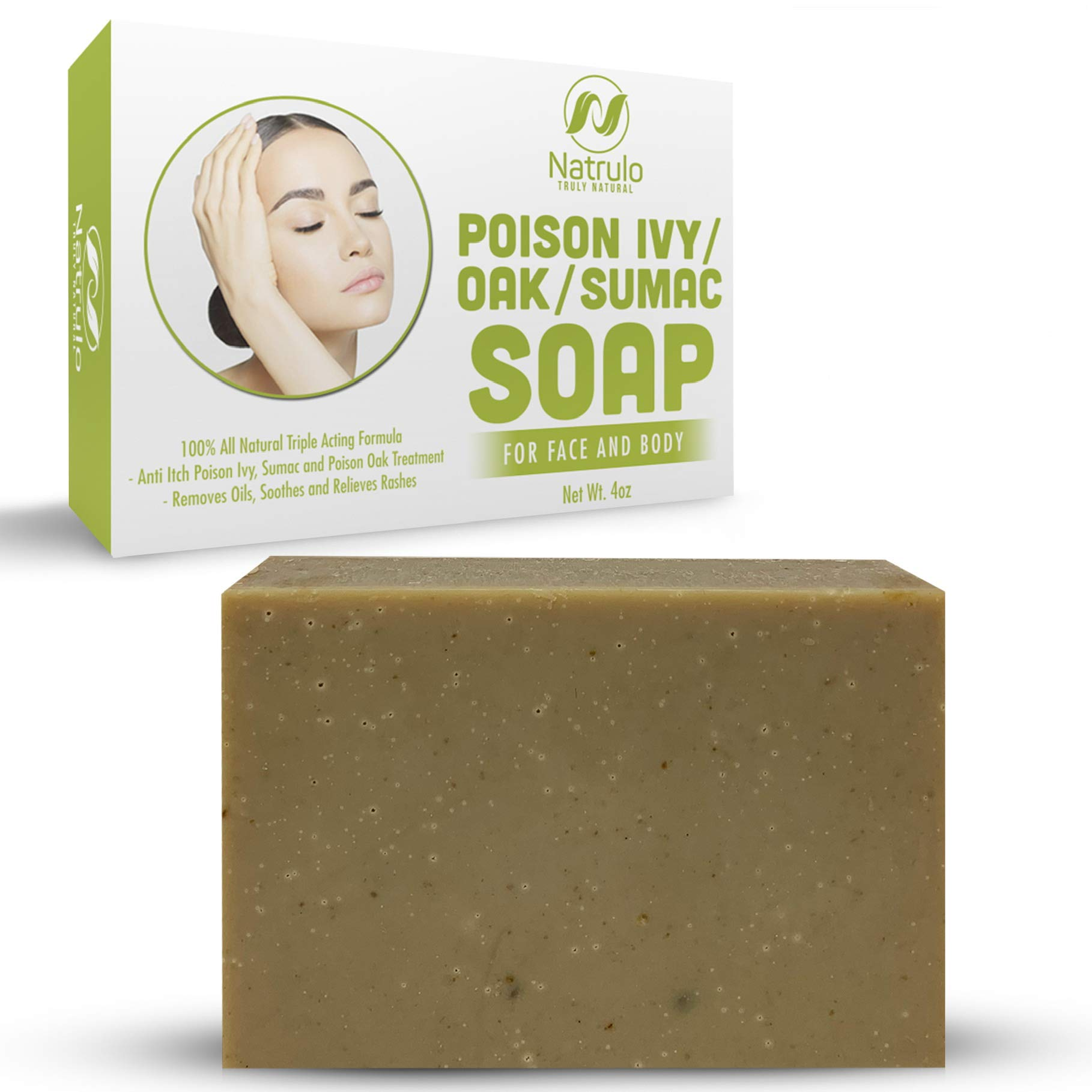 Natrulo Poison Ivy Soap Bar - All Natural Poison