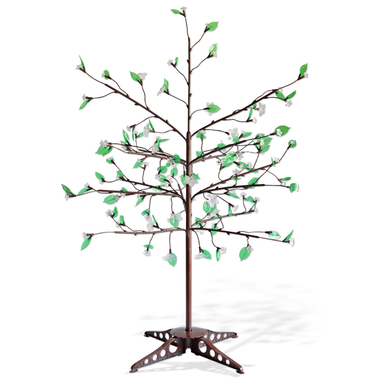 amazon com exhart anywhere lighting led tree with leaves