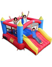 Amazon Com Inflatable Bouncers Toys Amp Games
