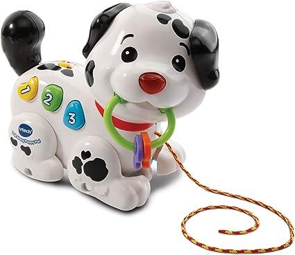 Tire a lo largo de Cachorro Pal ayuda a desarrollar habilidades motoras y enseña causa /& Efecto
