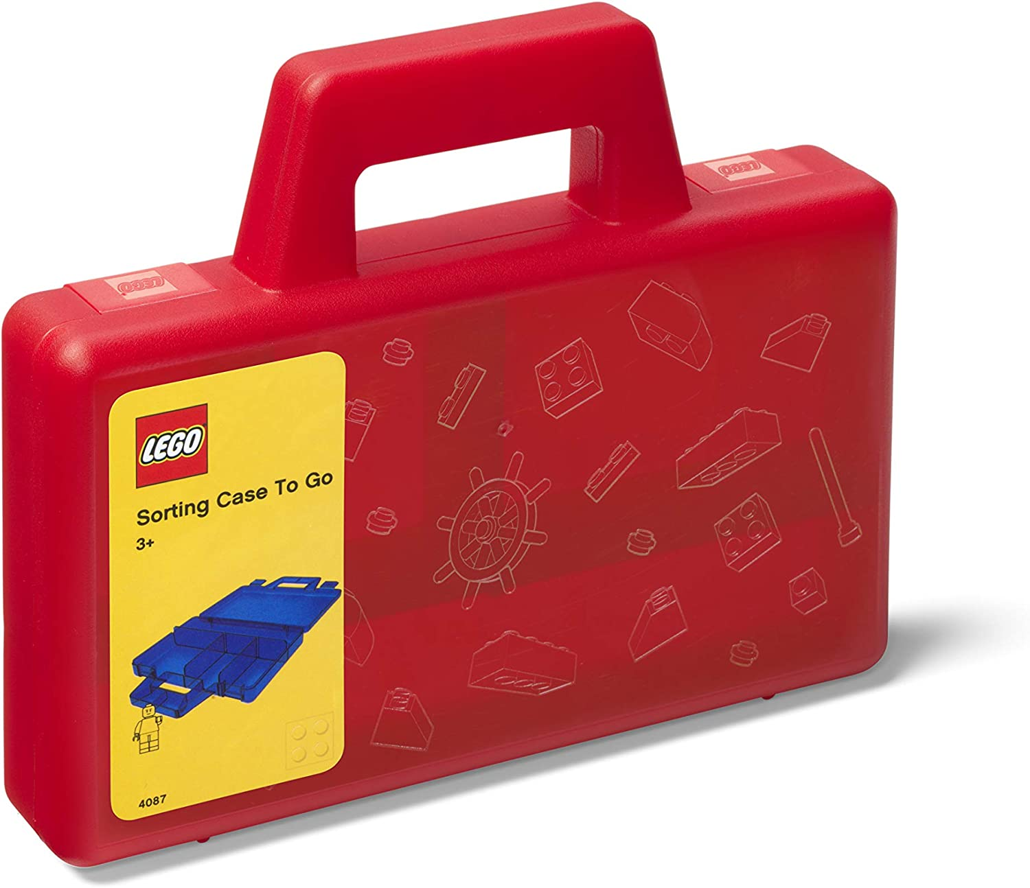 LEGO 40870001 Sorting Case to Go, Red
