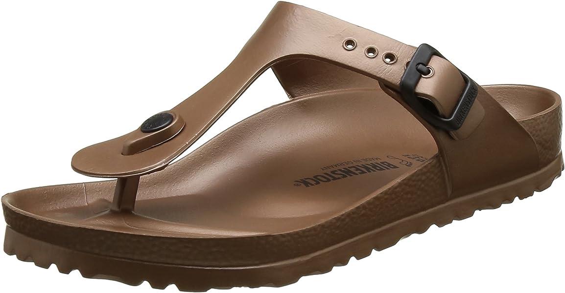 feffa282c62b Birkenstock Gizeh EVA - Metallic Copper 1001506 (Man-Made) Womens Sandals  44 EU