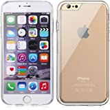 Minisuit for iPhone 6, 6S - Clear Back Case with Shock-Proof Trim