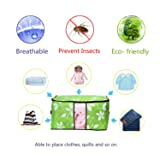 VEAMOR Breathable Comforter Storage Bags,Pillow