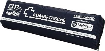 Leina Werke 16085 Mini Kombitasche Cm3 Compact 08 Ecoline Mit Klett Blau Weiß Auto