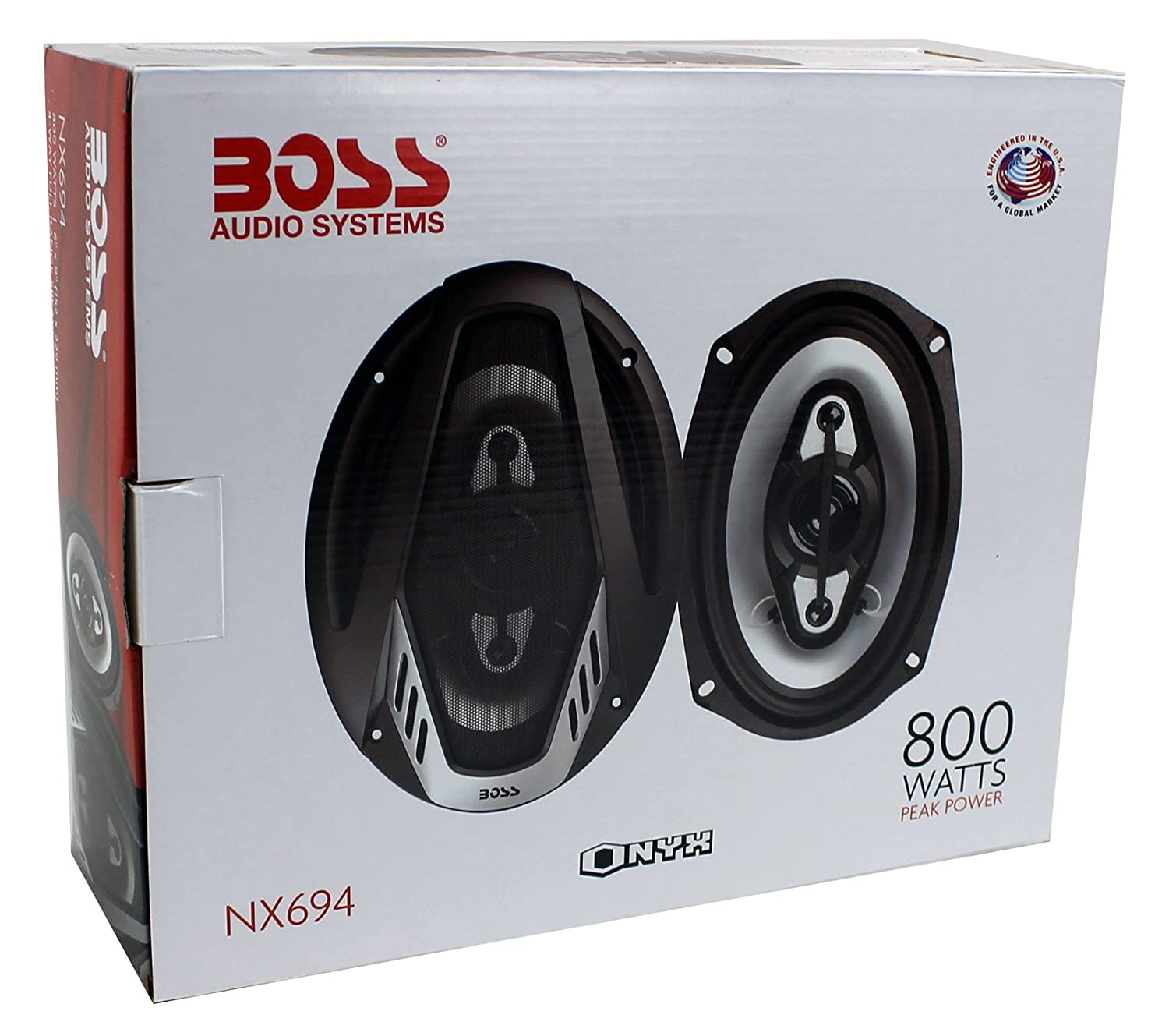 4 New Boss Nx694 6x9 1600w Onyx Way Car Audio Kit2 8 Gauge Complete Amplifier Wiring Kit Pair Vminnovations Speakers 1600 Watts 2 Electronics