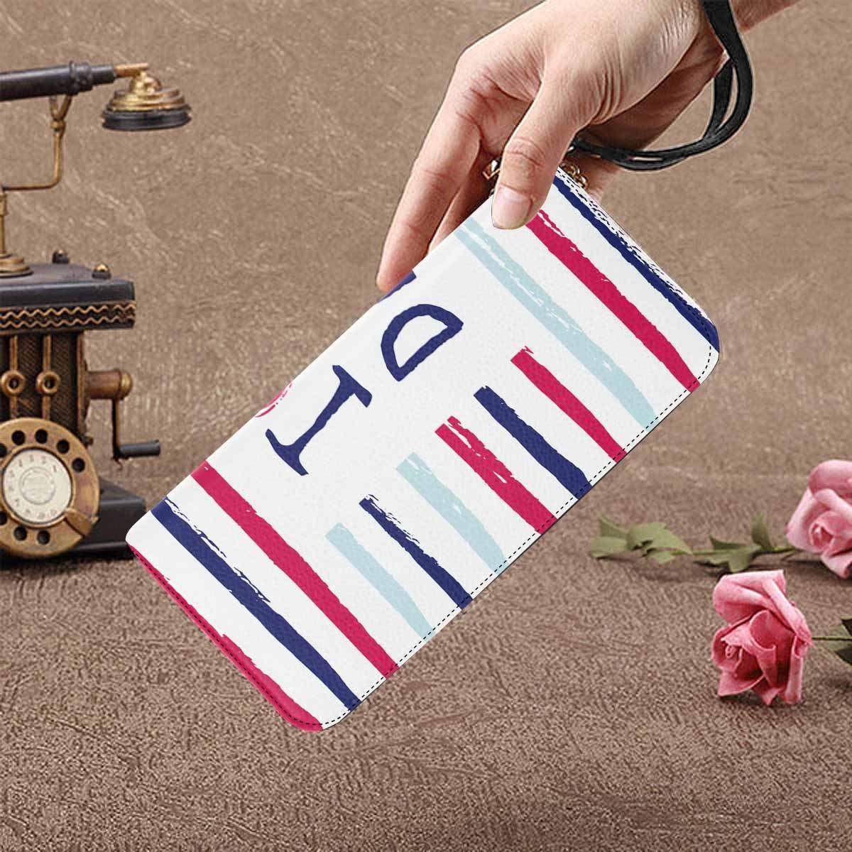 InterestPrint Womens I Love You Dad with a Heart Clutch Purse Card Holder Organizer Ladies Purse