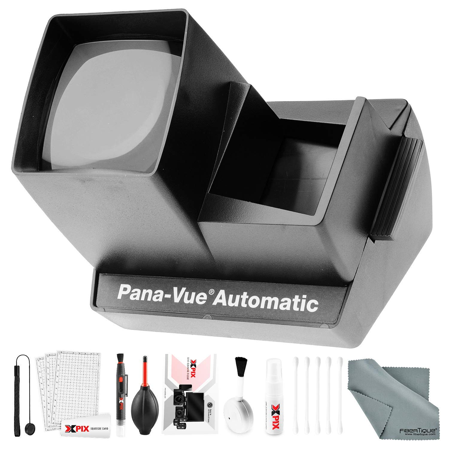 Pana-Vue 6566 Automatic Slide Viewer with Deluxe Cleaning Kit by Pana-Vue / Photo Savings