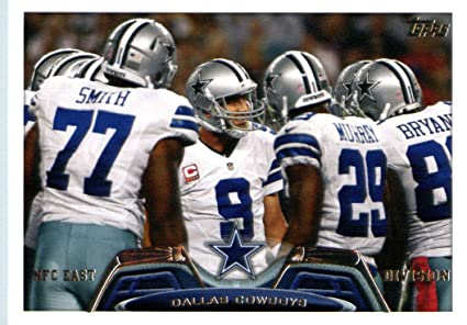 2013 Topps Football Card  98 Tony Romo   DeMarco Murray   Dez Bryant   Tyron ba33fa25f