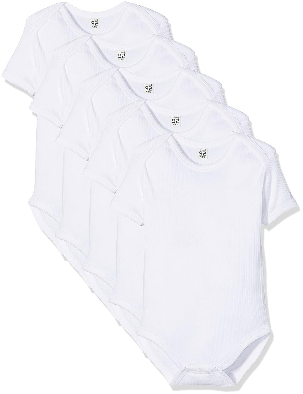Care Unisex Baby - Kurzarm-Body aus Bio Baumwolle im 5er Pack Brands 4 Kids A/S 550077