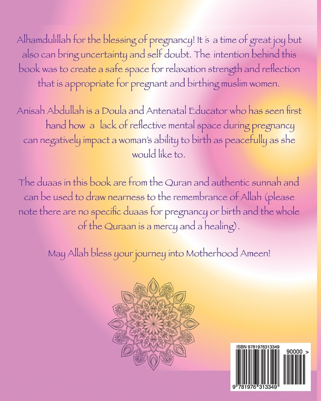 Inherent Birth Pregnancy Colouring Book and Affirmations for