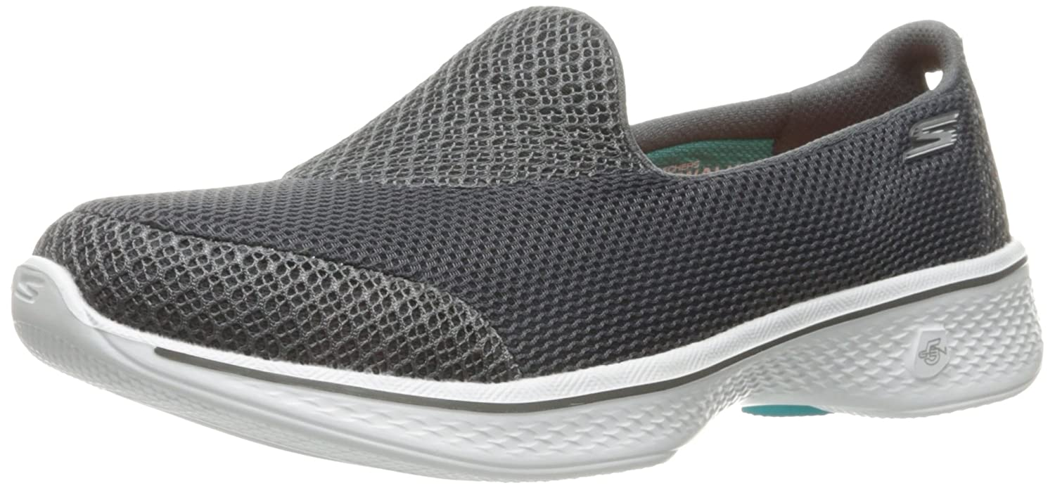 Skechers Performance Women's Go Walk 4 Propel Walking Shoe B01IIZDLPY 13 B(M) US|Charcoal