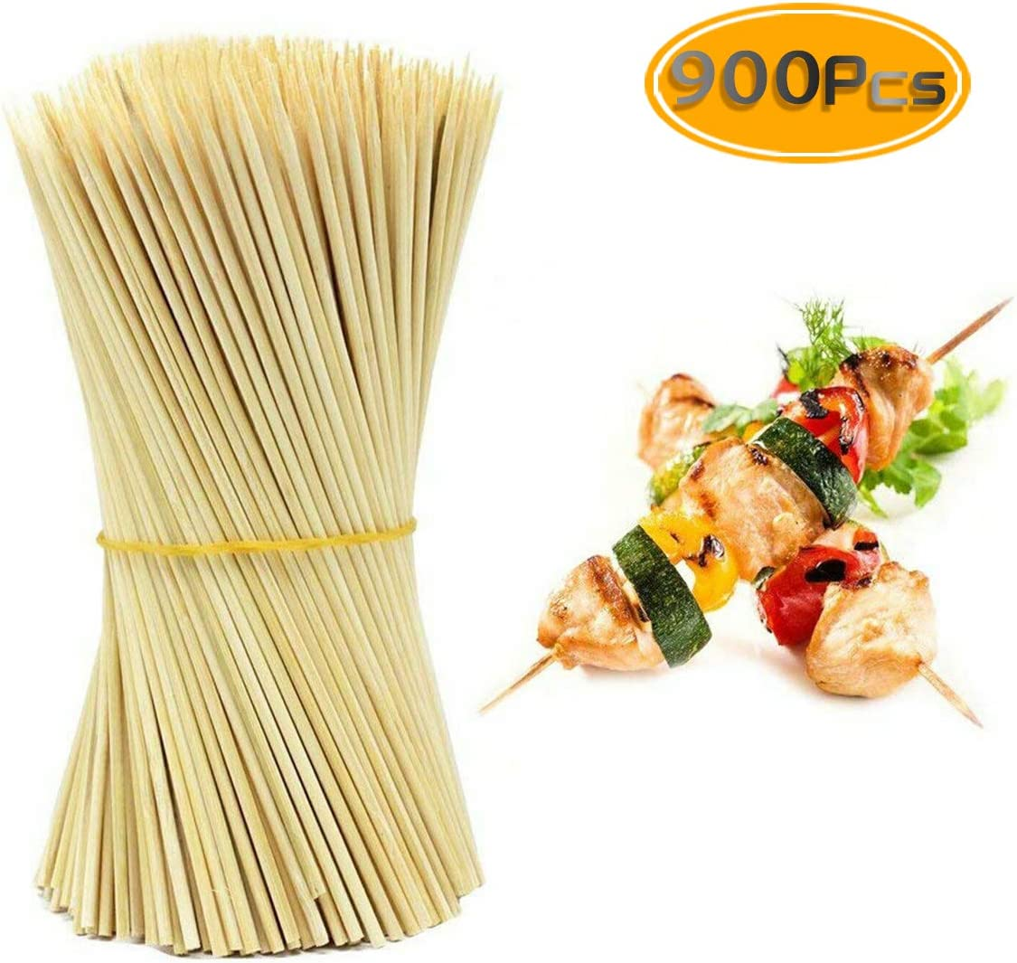More Size Choices 6//8//10//12//14//30 100 PCS HOPELF 16 Natural Bamboo Skewers Sticks for BBQ,Kabob,Grilling,Barbecue,Kitchen,Roasting,Marshmallows,Plant Stakes,Crafting./Φ=4mm