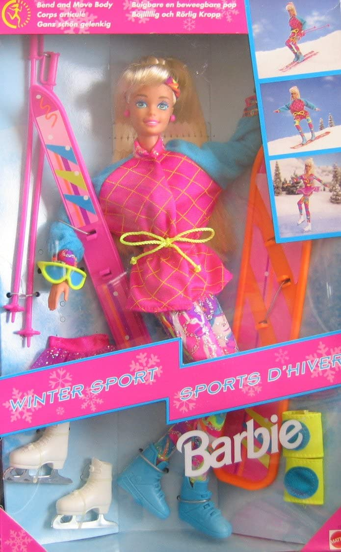 B001DES2V6 Barbie Winter Sport Doll Set w Skis & More! (1994) 71c2Gka2BaIL.SL1125_