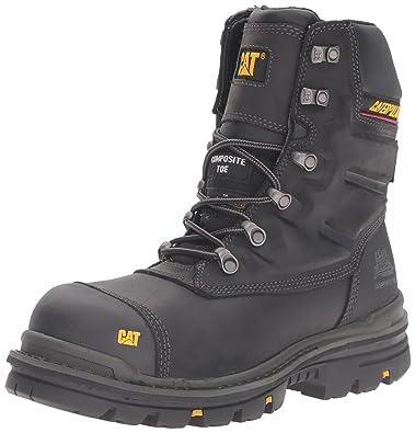 "Caterpillar Mens Premier 8"" Waterproof TX Comp Toe Industrial and Construction Shoe, ..."