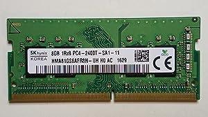SK Hynix 8GB DDR4 1Rx8 PC4-2400T HMA81GS6AFR8N-UH SO-DIMM Laptop RAM Memory