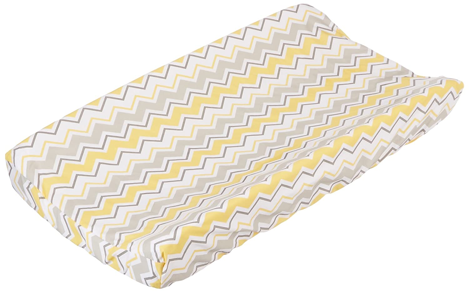 Trend Lab Buttercup Zigzag Chevron Changing Pad Cover, Teal 100908