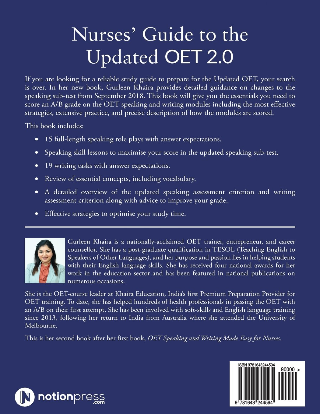 Buy Nurses' Guide to the Updated Oet 2 0: Speaking and