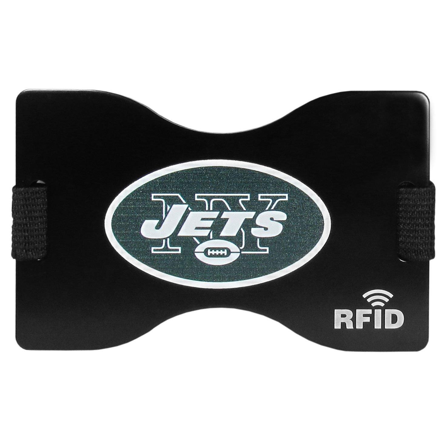 Siskiyou NFL Unisex RFID Wallet Black One Size Siskiyou Gifts Co Inc.