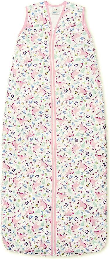 Saco de dormir de 130 cm, 100% algodón, 0,5 tog, 3-6 años, saco de ...