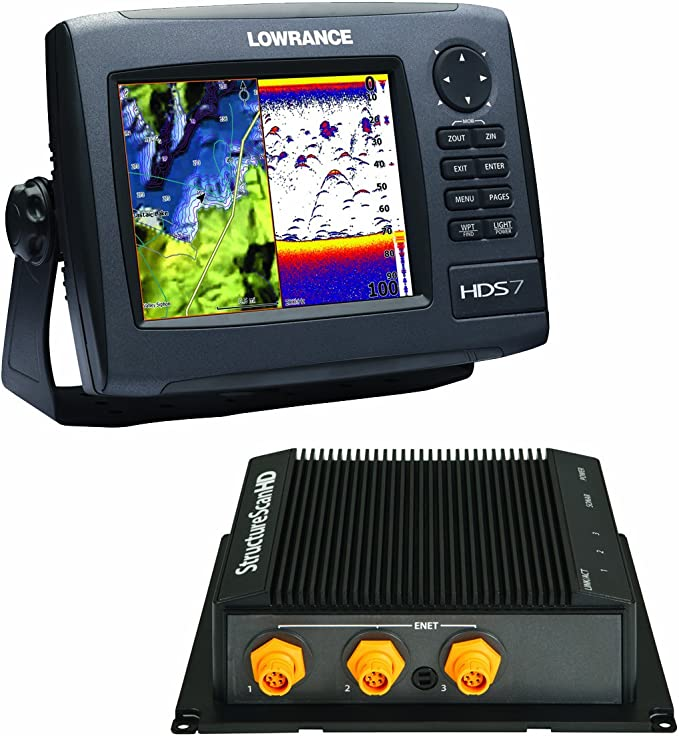 LOWRANCE HDS-7 GEN2 INSIGHT USA BUNDLE WITH LSS-2: Amazon.es: Electrónica