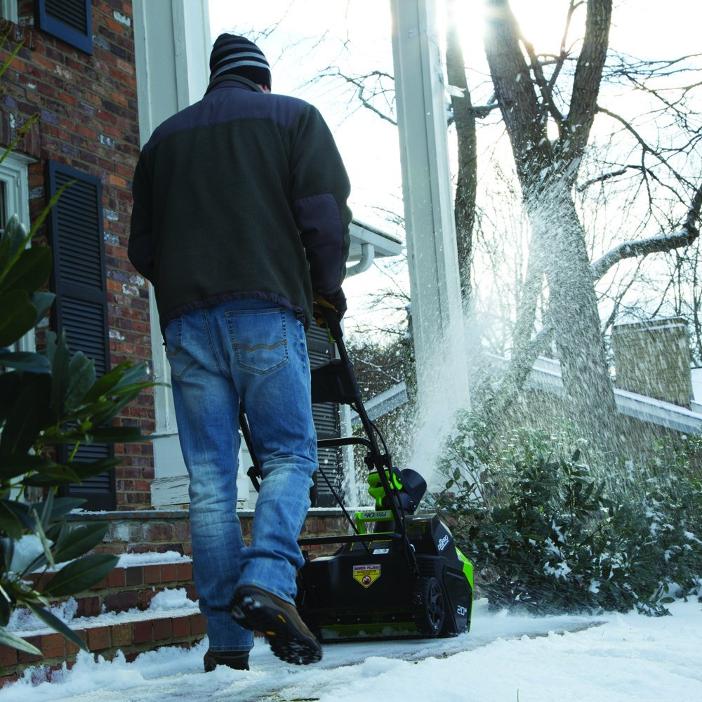 greenworks 40v snow blower review