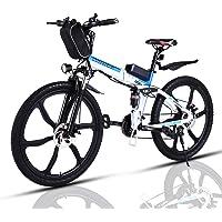 VIVI Bicicleta Electrica Plegable 350W Bicicleta Eléctrica Montaña, Bicicleta Montaña Adulto…