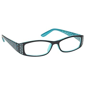 4500502ef96b The Reading Glasses Company Tiffany Style Blue Readers Designer Style Womens  Ladies Spring Hinges R1-