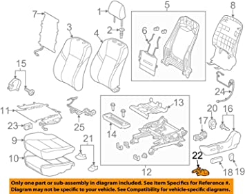 TOYOTA 72158-07030-C0 Seat Track Cover Left