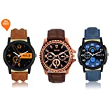 Mens and Boys Watch Analogue Multicolor Dial